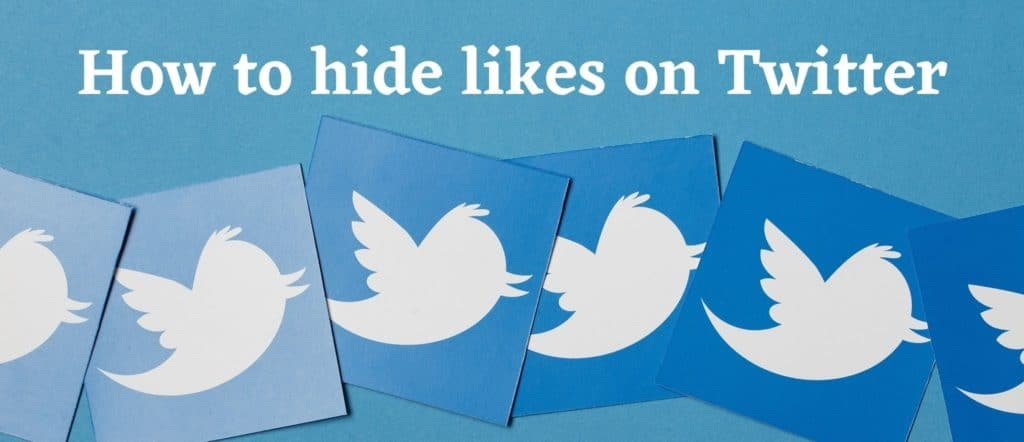 How to hide likes on Twitter