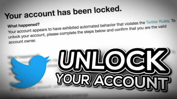 unlock twitter account without phone and email