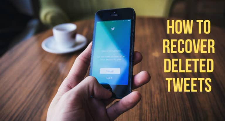 How to Recover Deleted Tweets?