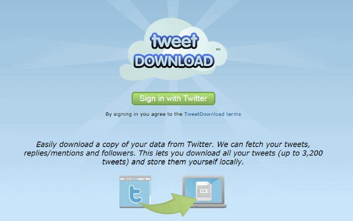 TweetDowload
