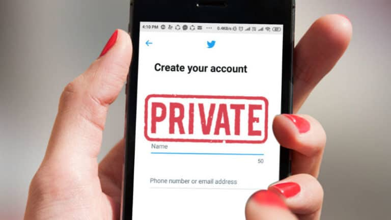 How to make your Twitter account private on desktop or mobile