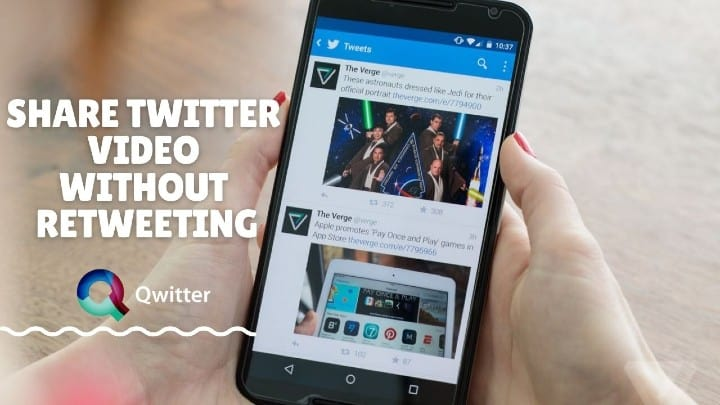 how to tweet a youtube video without link