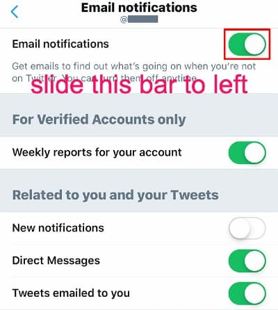 Here's How to Turn Off Email Notifications on mobile